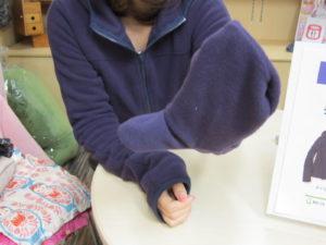 手袋つきフリースブルゾン その1