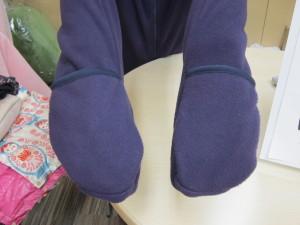 手袋つきフリースブルゾン その2