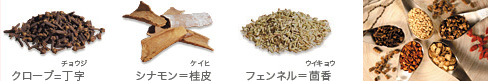 仁丹独自の和漢植物