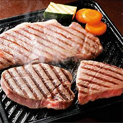 大阪〈黒門萬野〉 黒毛和牛厚切りステーキディナーセット