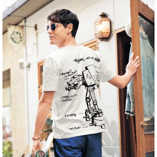 ベルメゾンネット メンズ半袖Tシャツ