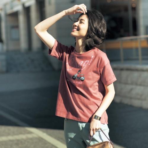 28柄から選べる旅する気分のプリントTシャツ