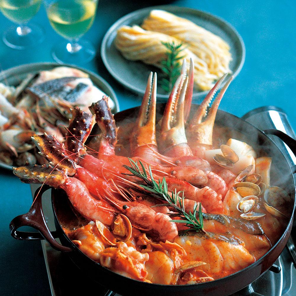 海鮮ブイヤベース鍋セット (12月お届け専用) 【北のかに市】