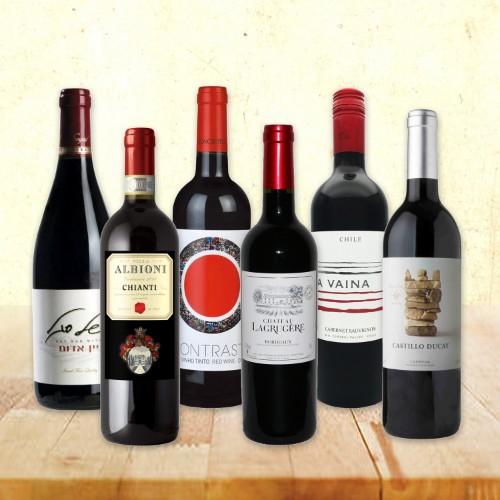 赤辛口ワイン 750ml × 6本