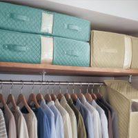 防ダニ・抗菌・防カビ機能が続くクローゼットぴったり布団収納袋