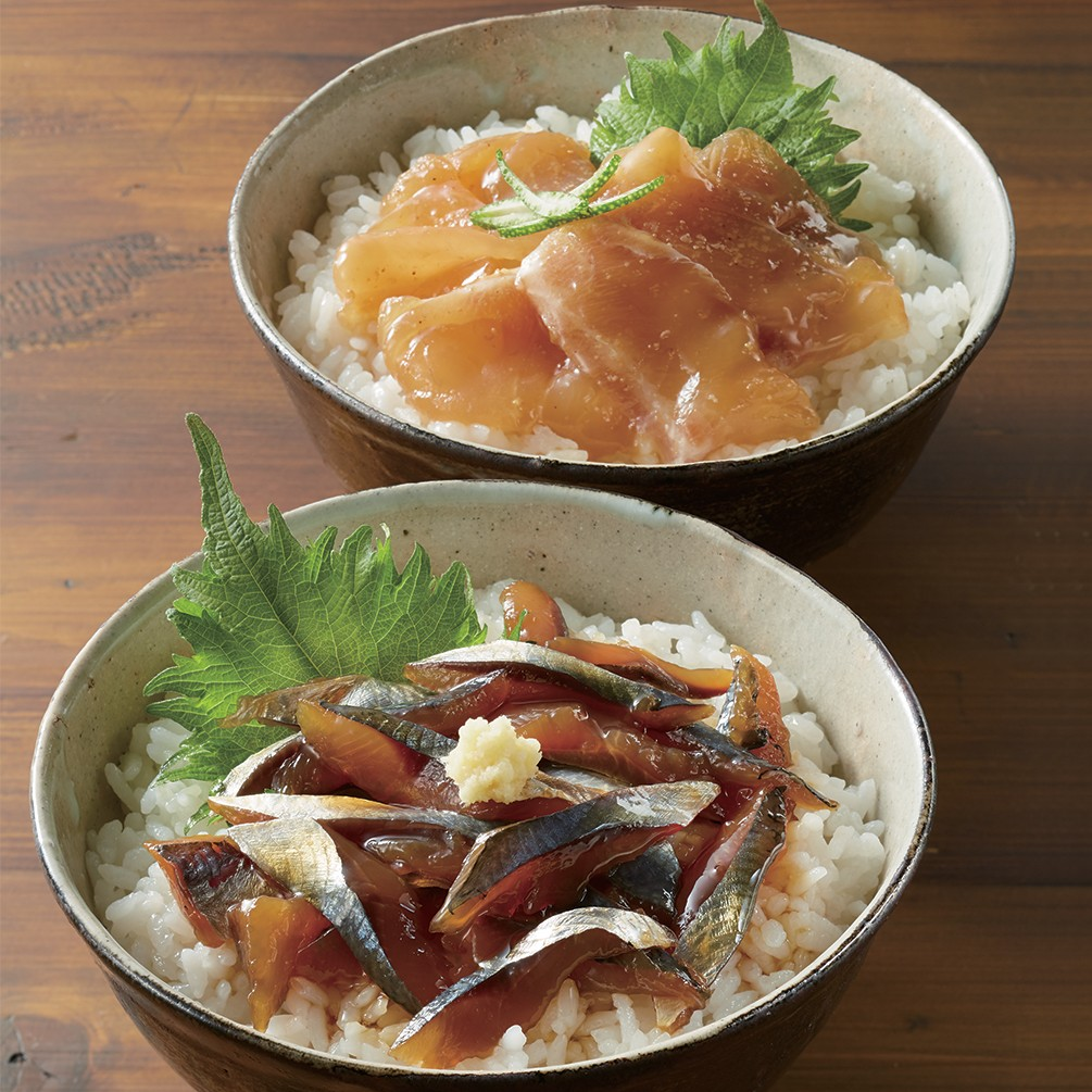 土佐の海鮮丼の素5種セット 【宇佐もん工房】